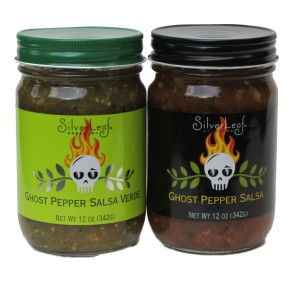 Award Winning Red & Green Ghost Pepper Salsa