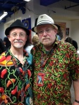 """Yours truly and the """"Godfather"""" at the NYC Hot Sauce Expo"""